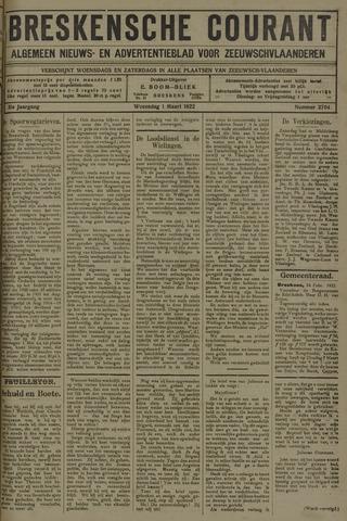 Breskensche Courant 1922-03-01
