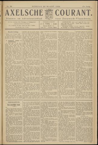Axelsche Courant 1932-03-22