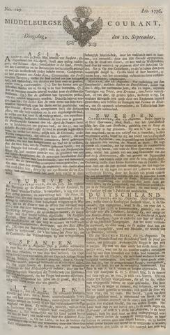 Middelburgsche Courant 1776-09-10