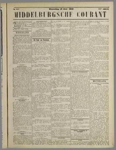 Middelburgsche Courant 1919-05-19