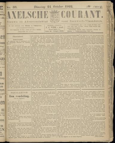 Axelsche Courant 1922-10-24
