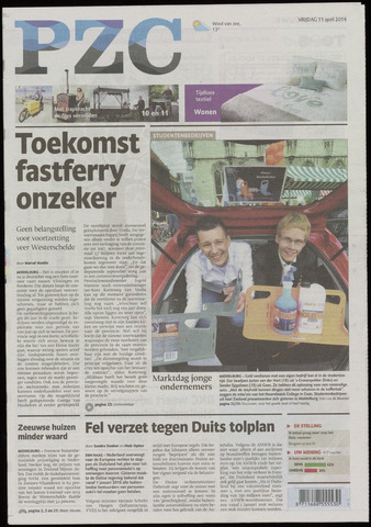 Provinciale Zeeuwse Courant 2014-04-11