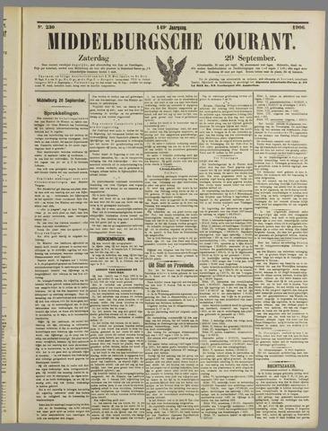 Middelburgsche Courant 1906-09-29