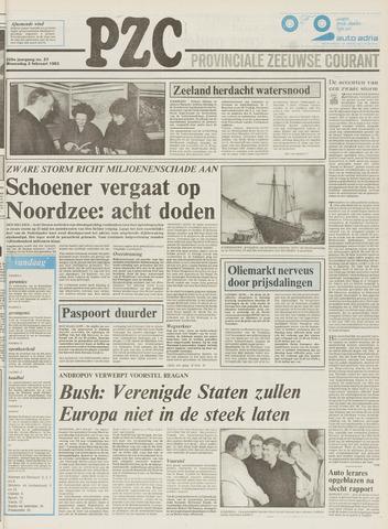 Provinciale Zeeuwse Courant 1983-02-02