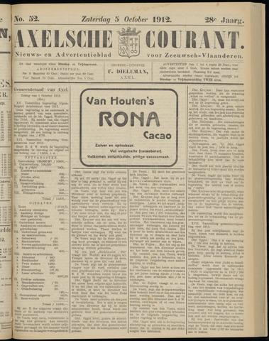 Axelsche Courant 1912-10-05