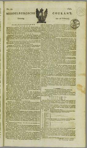 Middelburgsche Courant 1825-02-26