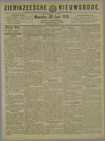 Zierikzeesche Nieuwsbode 1913-06-30