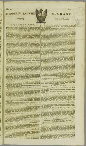 Middelburgsche Courant 1825-02-22