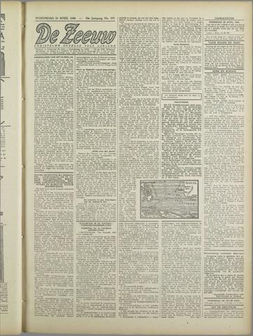 De Zeeuw. Christelijk-historisch nieuwsblad voor Zeeland 1944-04-26