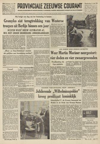 Provinciale Zeeuwse Courant 1959-06-11