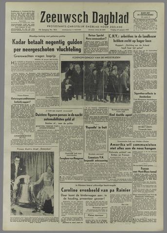 Zeeuwsch Dagblad 1957-01-25