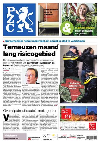 Provinciale Zeeuwse Courant 2016-09-09