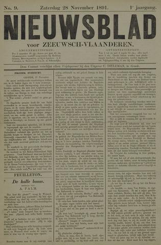 Nieuwsblad voor Zeeuwsch-Vlaanderen 1891-11-28
