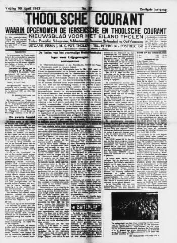 Ierseksche en Thoolsche Courant 1943-04-30