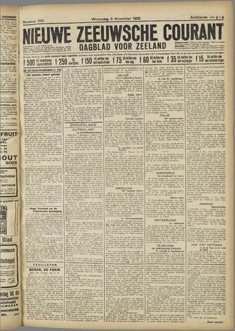 Nieuwe Zeeuwsche Courant 1922-11-08