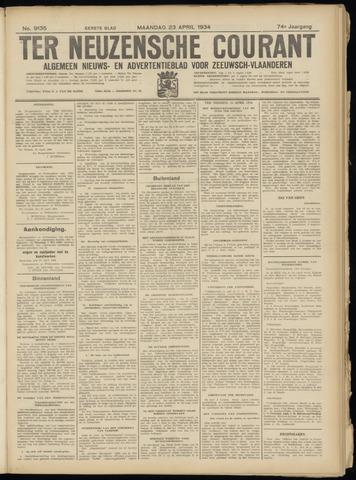 Ter Neuzensche Courant. Algemeen Nieuws- en Advertentieblad voor Zeeuwsch-Vlaanderen / Neuzensche Courant ... (idem) / (Algemeen) nieuws en advertentieblad voor Zeeuwsch-Vlaanderen 1934-04-23