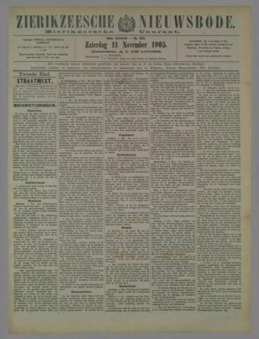 Zierikzeesche Nieuwsbode 1905-11-11