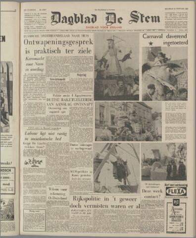 de Stem 1963-02-26