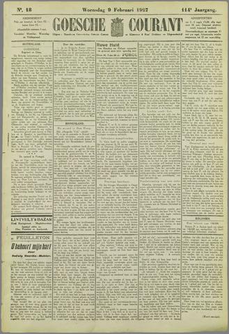 Goessche Courant 1927-02-09