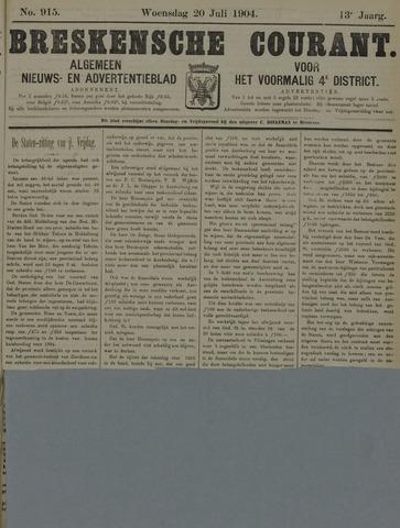 Breskensche Courant 1904-07-20