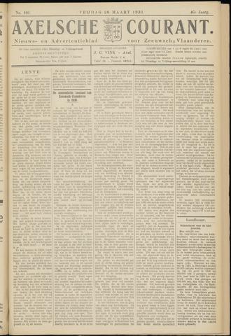 Axelsche Courant 1931-03-20