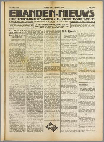 Eilanden-nieuws. Christelijk streekblad op gereformeerde grondslag 1940-05-25
