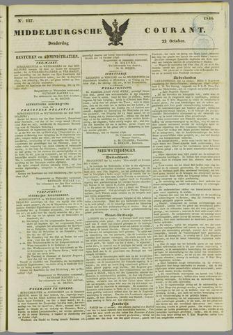 Middelburgsche Courant 1846-10-22