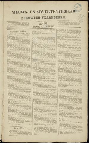 Ter Neuzensche Courant. Algemeen Nieuws- en Advertentieblad voor Zeeuwsch-Vlaanderen / Neuzensche Courant ... (idem) / (Algemeen) nieuws en advertentieblad voor Zeeuwsch-Vlaanderen 1855-01-17