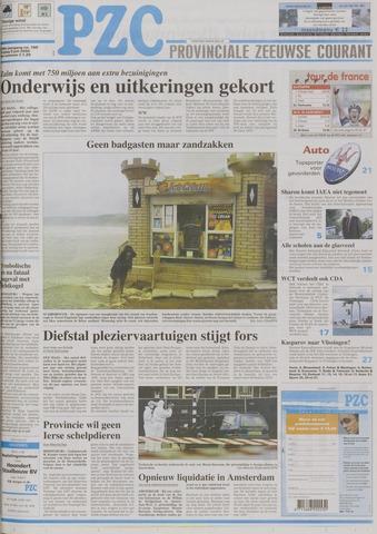 Provinciale Zeeuwse Courant 2004-07-09