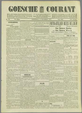 Goessche Courant 1932-11-24