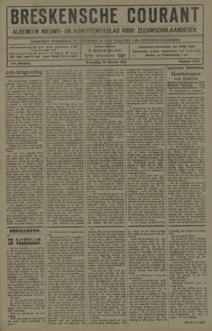 Breskensche Courant 1924-10-29