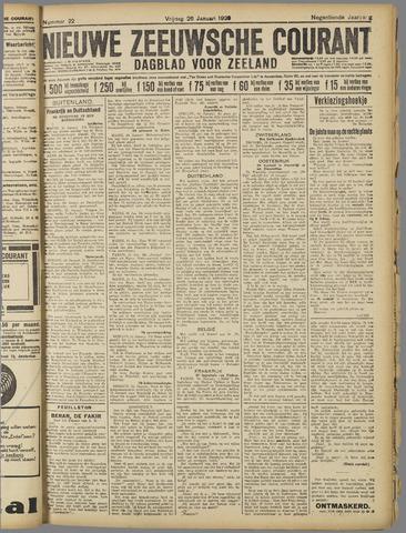 Nieuwe Zeeuwsche Courant 1923-01-26