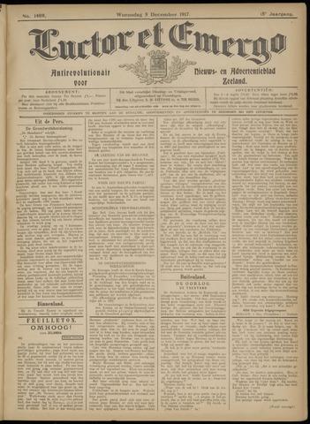 Luctor et Emergo. Antirevolutionair nieuws- en advertentieblad voor Zeeland / Zeeuwsch-Vlaanderen. Orgaan ter verspreiding van de christelijke beginselen in Zeeuwsch-Vlaanderen 1917-12-05