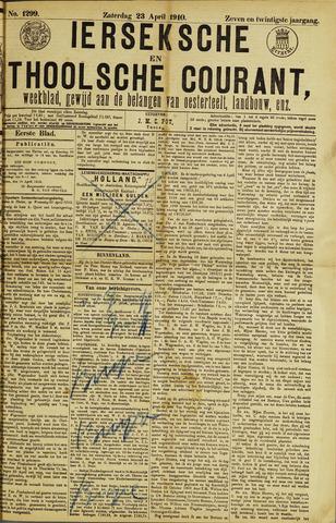 Ierseksche en Thoolsche Courant 1910-04-23