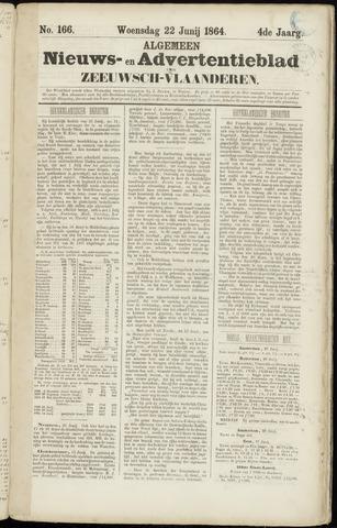 Ter Neuzensche Courant. Algemeen Nieuws- en Advertentieblad voor Zeeuwsch-Vlaanderen / Neuzensche Courant ... (idem) / (Algemeen) nieuws en advertentieblad voor Zeeuwsch-Vlaanderen 1864-06-22
