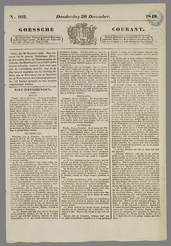 Goessche Courant 1849-12-20