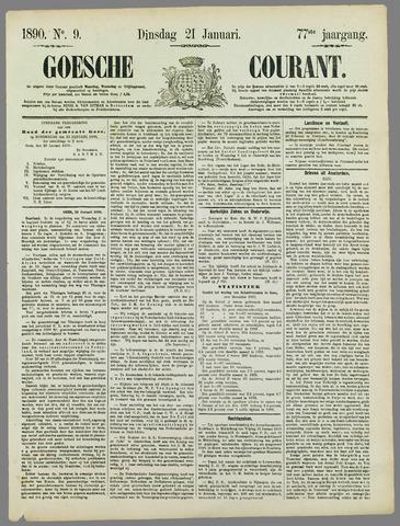 Goessche Courant 1890-01-21