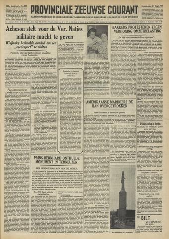 Provinciale Zeeuwse Courant 1950-09-21