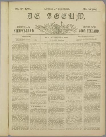 De Zeeuw. Christelijk-historisch nieuwsblad voor Zeeland 1904-09-27