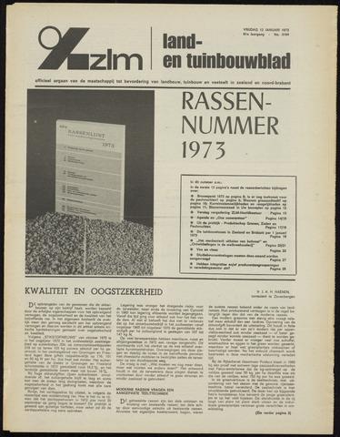 Zeeuwsch landbouwblad ... ZLM land- en tuinbouwblad 1973-01-12