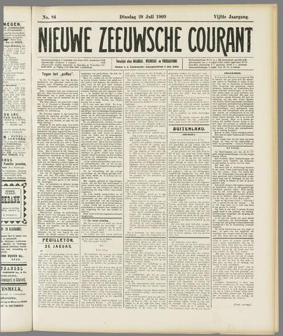 Nieuwe Zeeuwsche Courant 1909-07-20