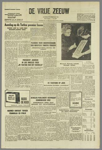 de Vrije Zeeuw 1964-02-22