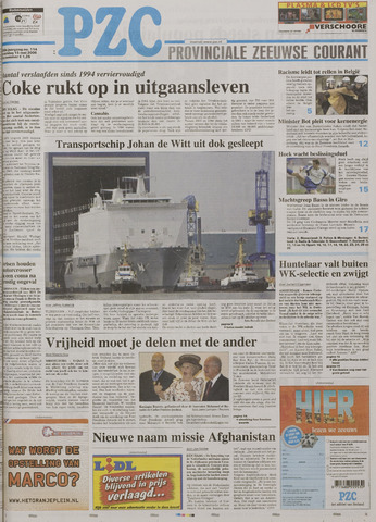 Provinciale Zeeuwse Courant 2006-05-15