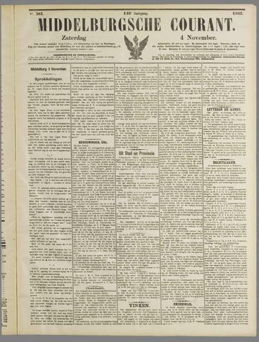 Middelburgsche Courant 1905-11-04