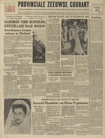 Provinciale Zeeuwse Courant 1963-04-25
