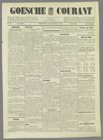 Goessche Courant 1932-08-10