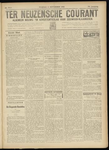 Ter Neuzensche Courant. Algemeen Nieuws- en Advertentieblad voor Zeeuwsch-Vlaanderen / Neuzensche Courant ... (idem) / (Algemeen) nieuws en advertentieblad voor Zeeuwsch-Vlaanderen 1932-11-11