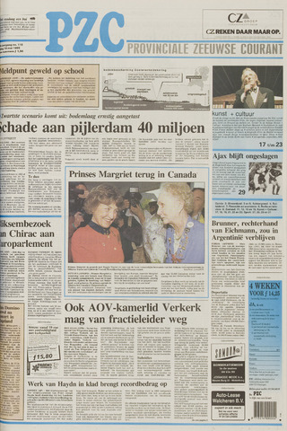 Provinciale Zeeuwse Courant 1995-05-19