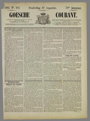 Goessche Courant 1883-08-30
