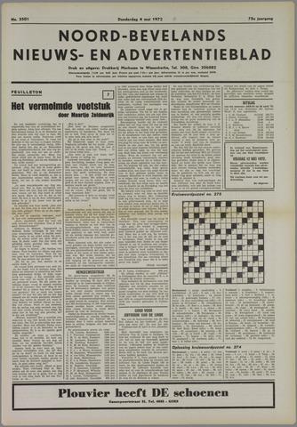 Noord-Bevelands Nieuws- en advertentieblad 1972-05-04